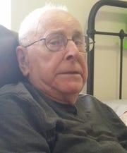 WWII U.S. Navy veteranAdam Bernhardt, 96, served in the south Pacific.