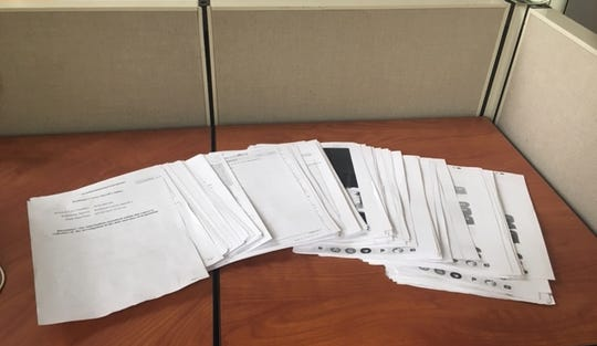 The 700-page investigation report into allegations of sexual assault and stalking completed by the Richland County Sheriff's Office.