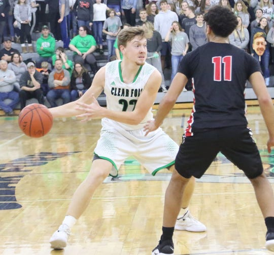 Clear Fork's Jared Schaefer helped the Colts improve to 18-4 in the regular season.