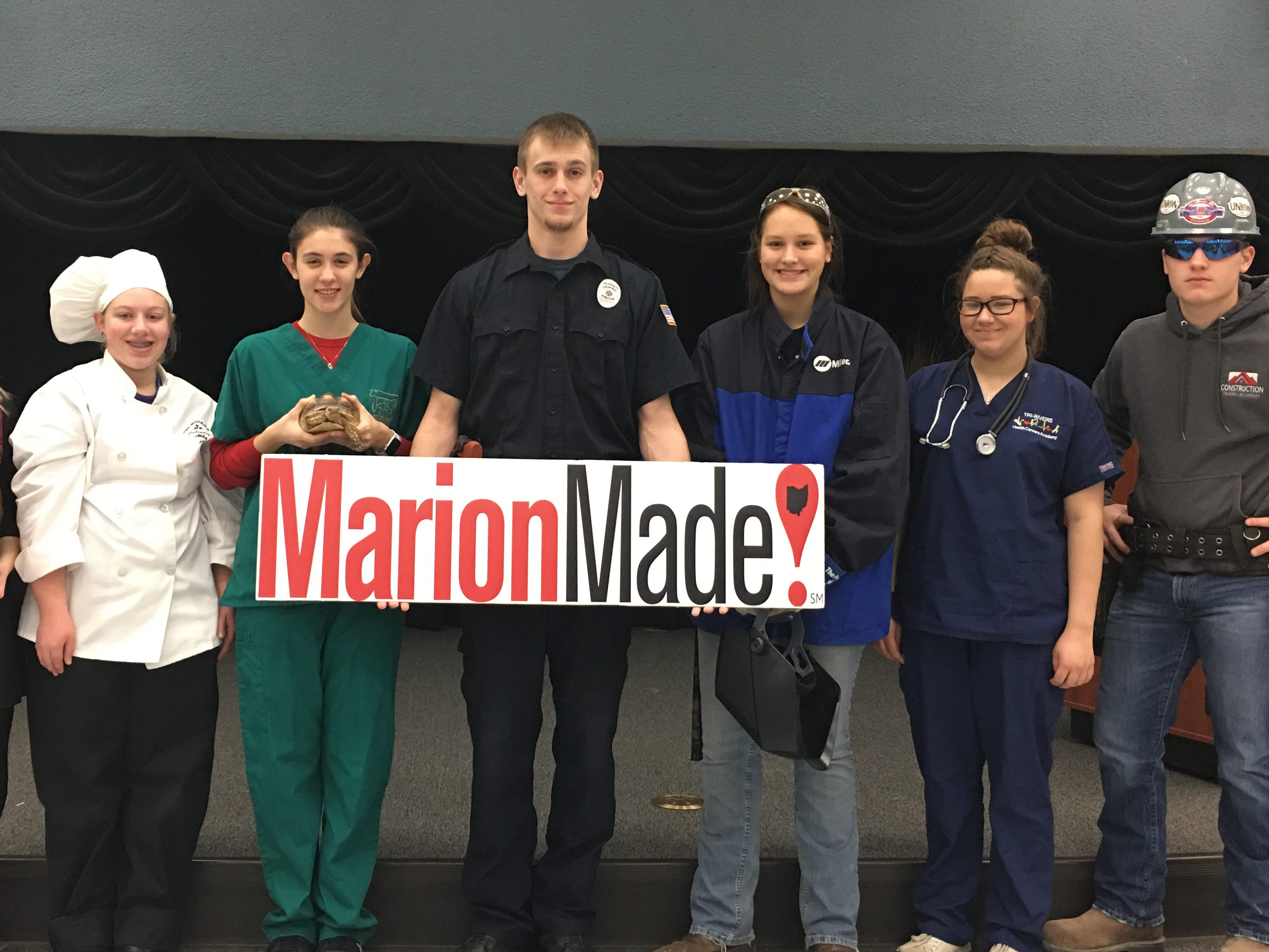 More than 100 local organizations have taken up the MarionMade! cause of community pride and unity. Schools like Tri-Rivers Career Center proudly proclaim that they are MarionMade!