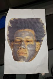 A photocopied image of Nicolet standout Jalen Johnson that made it appear he was wearing blackface.