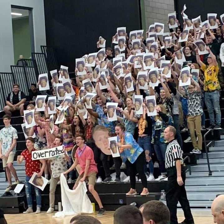Port Washington apologizes for students' use of controversial photo used to taunt Nicolet star Jalen Johnson