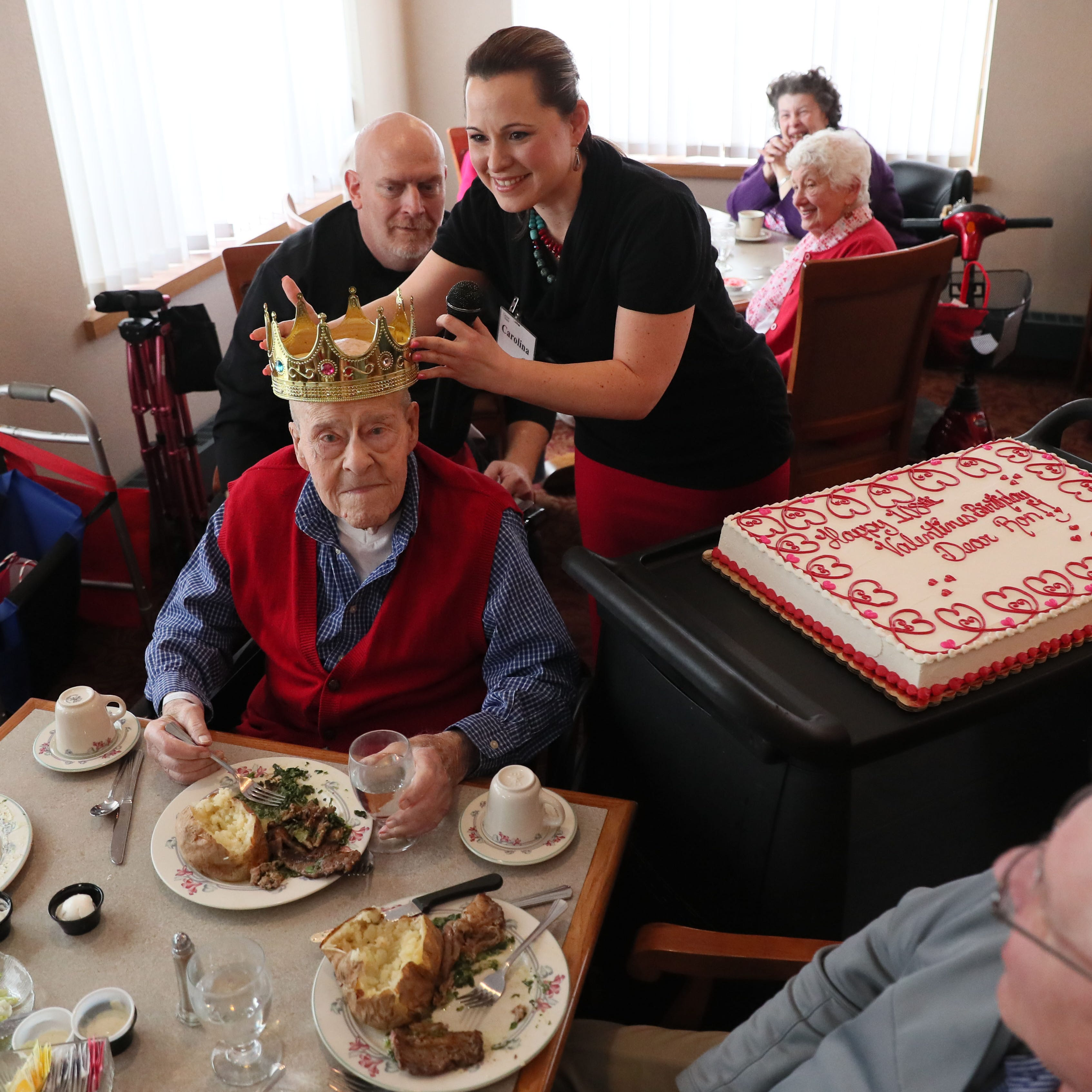 Stingl: Ron Schwartz got a second wind when he reached 100. Now he's 108 and going strong.