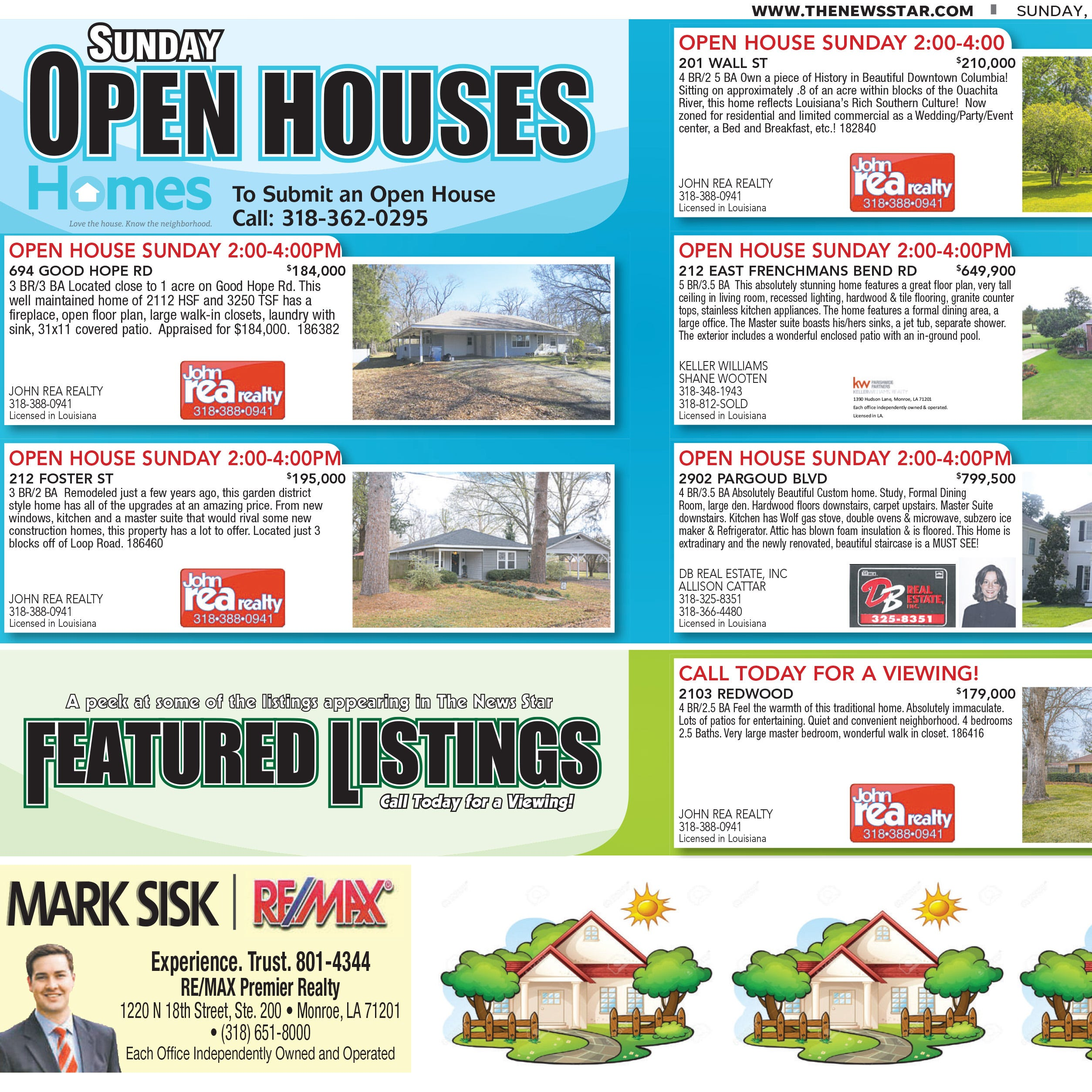 Homefinder: Feb. 17, 2019