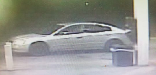 The suspect was driving this vehicle.