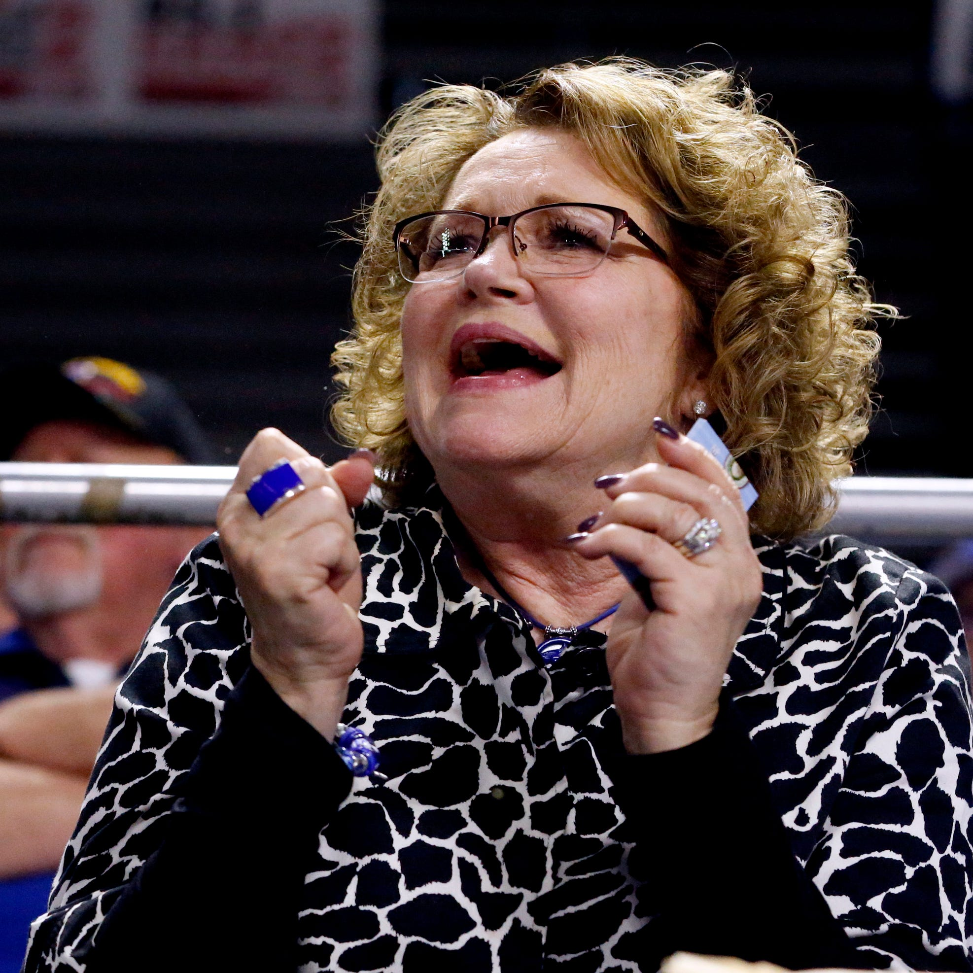 Deb Insell thrilled her husband and son finally can share special memories on MTSU bench