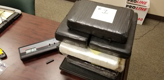 Cocaine found in a vehicle traveling on Interstate 40 through Dickson County recently.
