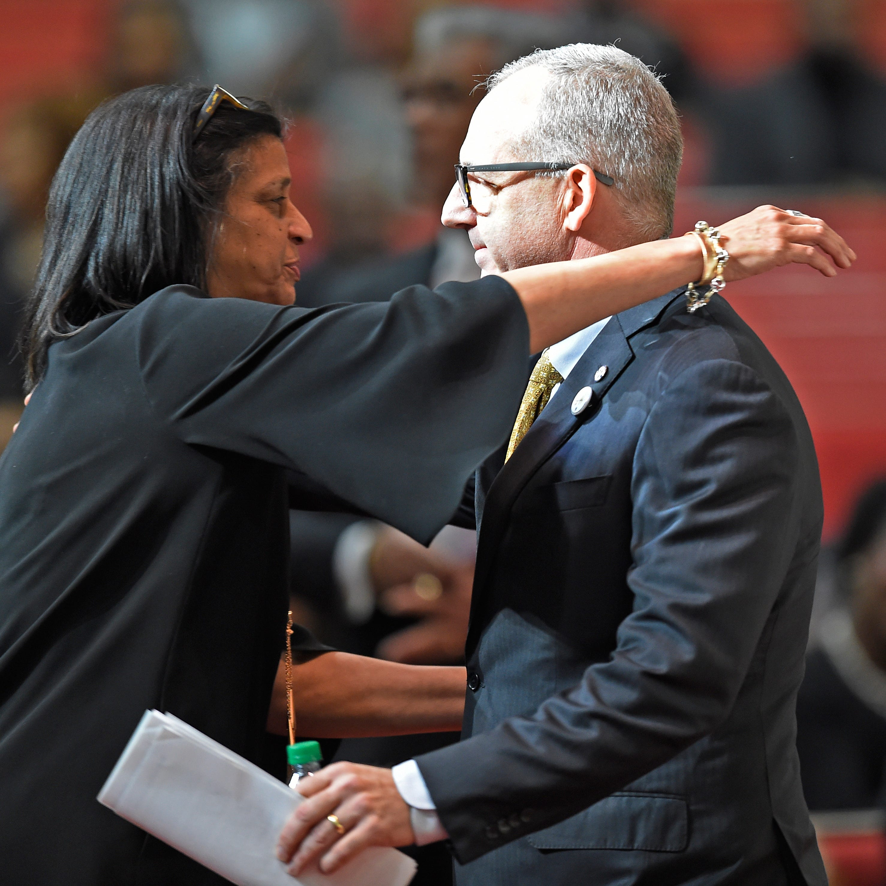 David Williams funeral: Tearful tributes, laughter help say farewell to Vanderbilt AD