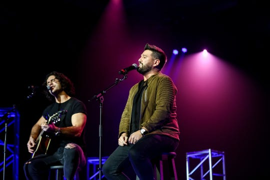 "Dan + Shay perform new single ""All to Myself"" at the Warner Wednesday luncheon at CRS."