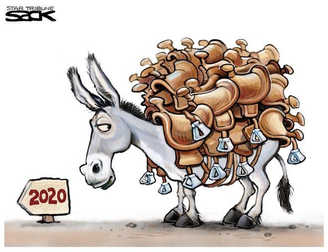 Dems 2020 Candidates 2019 01 14 Sack