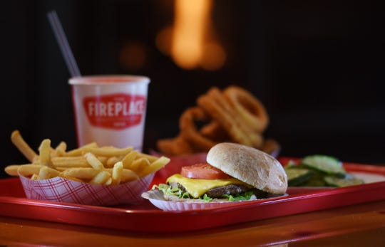 The bestselling  cheeseburger at the Fireplace in Paramus