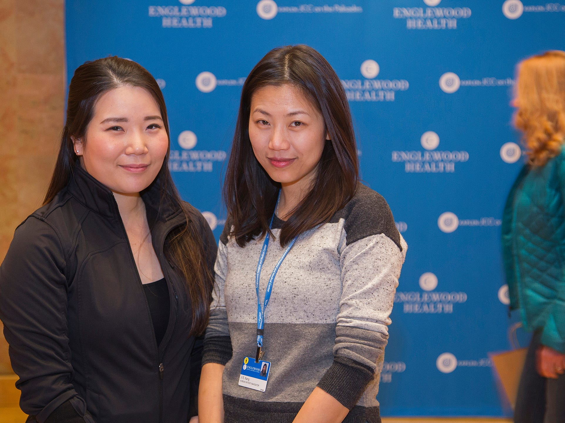 Soo Yun Lee,Jjina Kang. Englewood Health and Kaplen JCC on the Palisades sponsored a Mind, Body, & Sole - a women's health & fitness social night at Kaplen JCC on the Palisades in Tenafly.02/13/2019