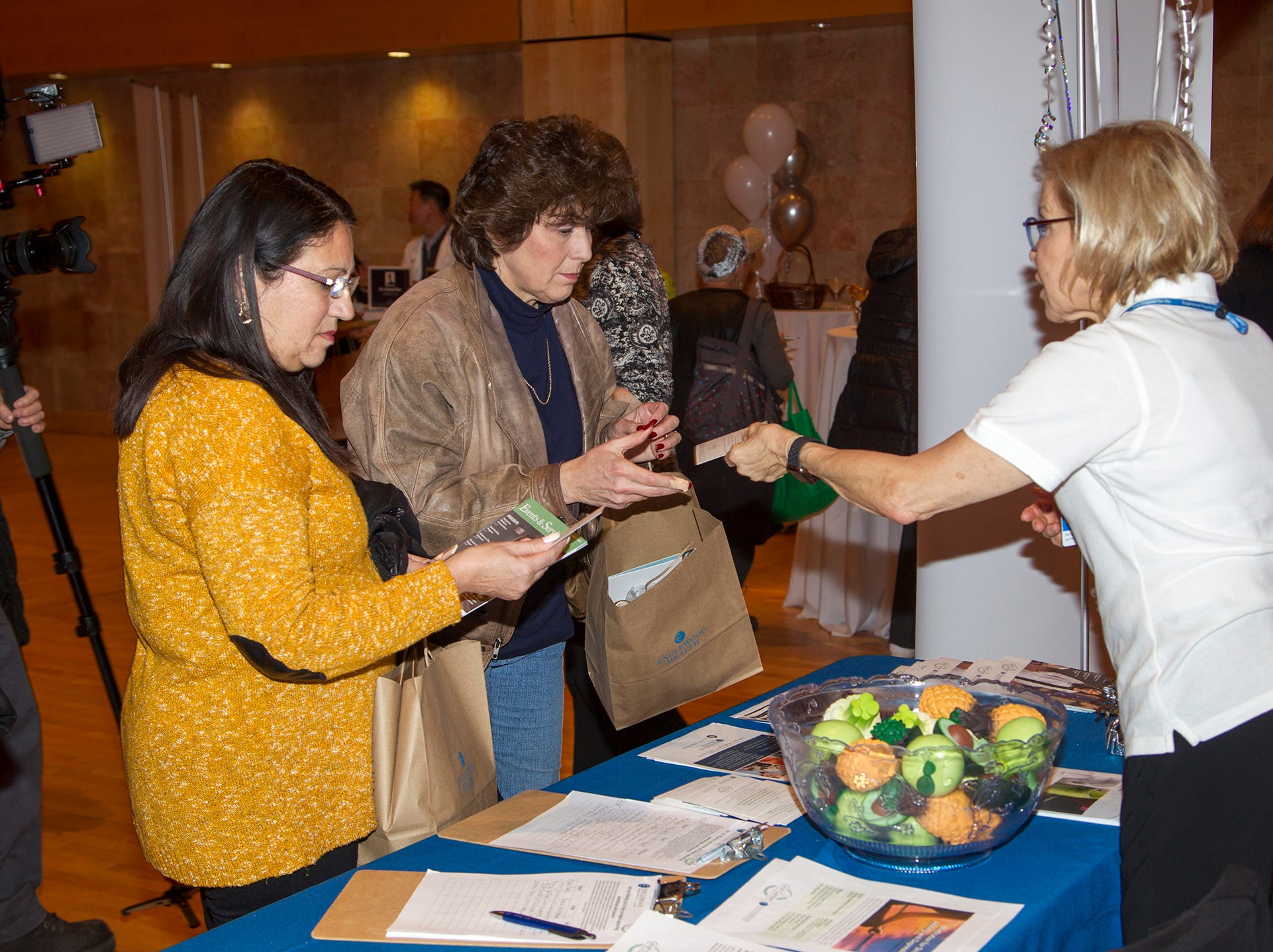 Englewood Health and Kaplen JCC on the Palisades sponsored a Mind, Body, & Sole - a women's health & fitness social night at Kaplen JCC on the Palisades in Tenafly.02/13/2019