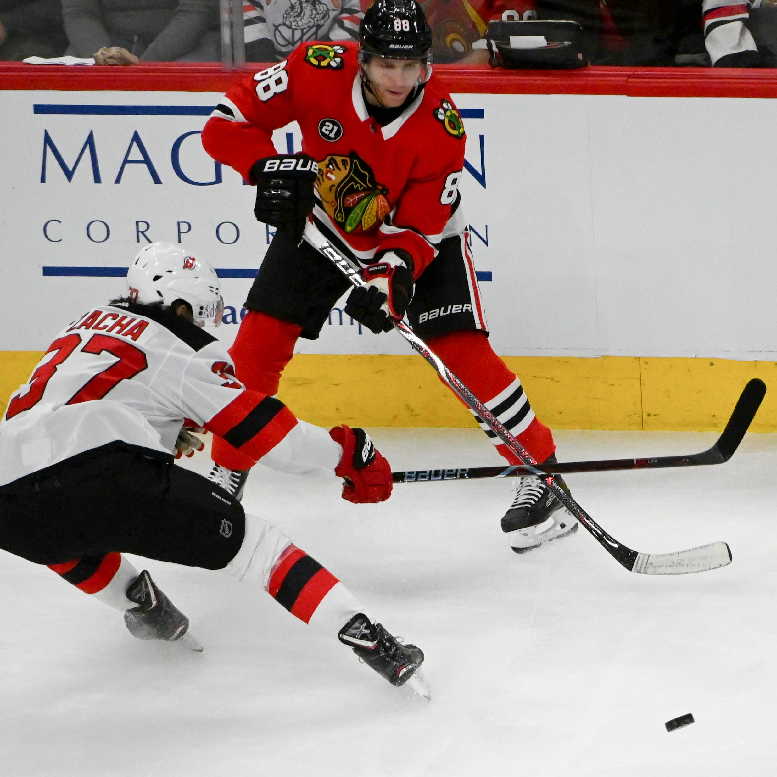 3 takeaways in NJ Devils' loss to Blackhawks