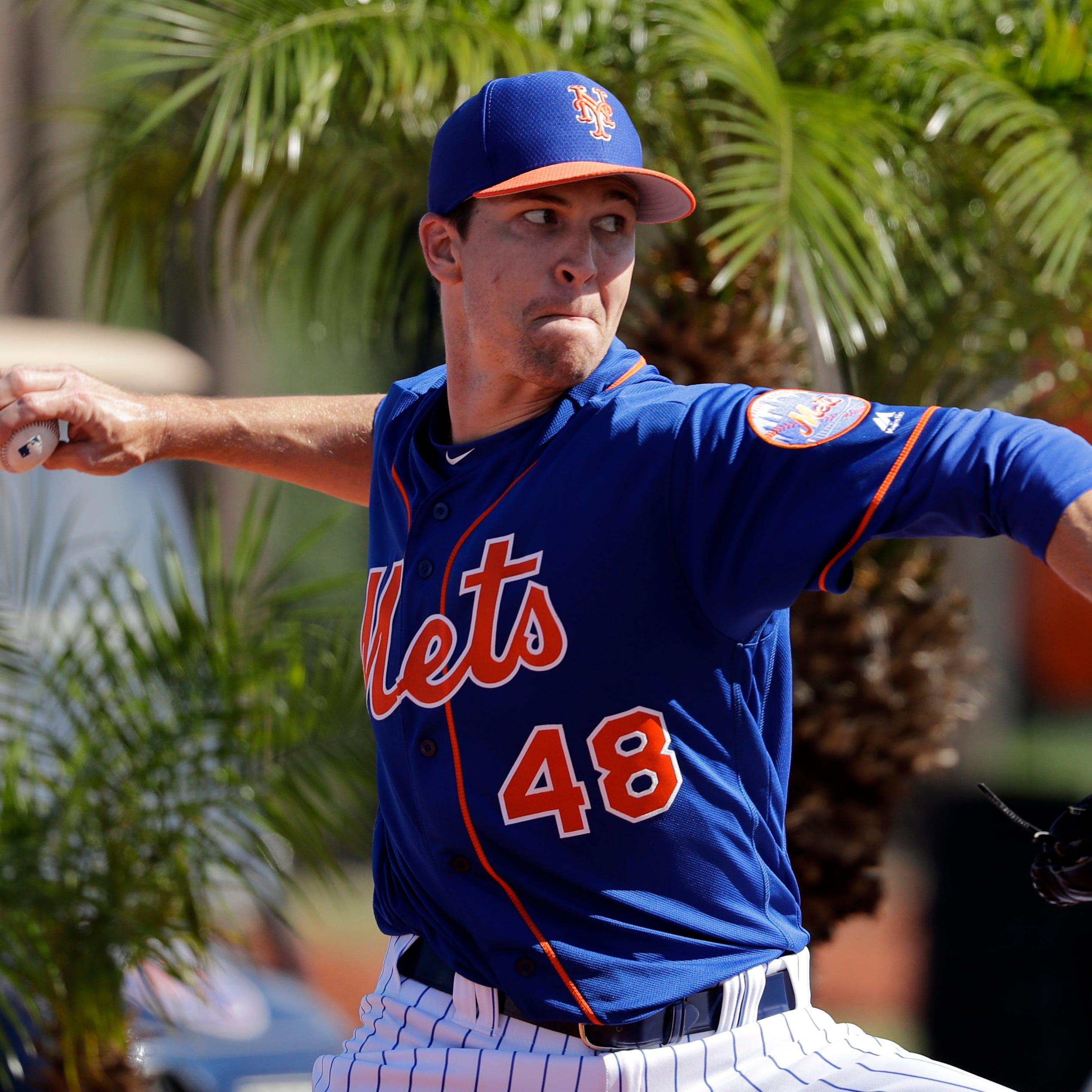 Jacob deGrom won't rule out innings limit if Mets don't offer contract extension