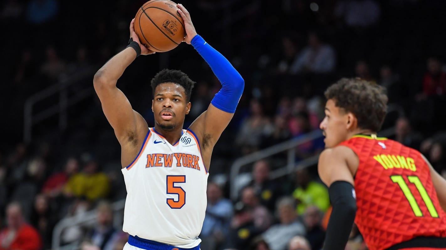 New York Knicks  Dennis Smith Jr. getting plenty of responsibility de58f2da5