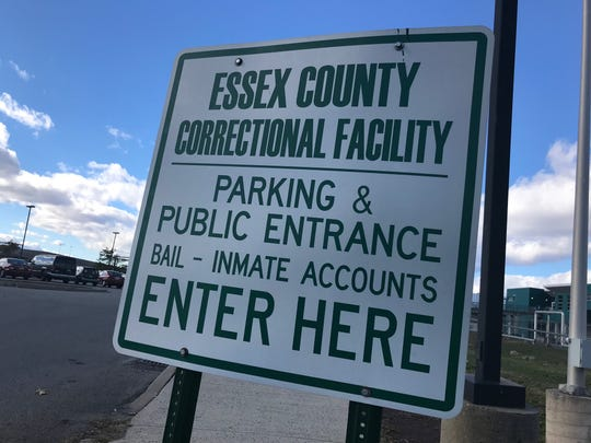 Essex County Correctional Facility sign