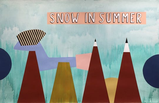 """Snow in Summer"" by  Dahlia Elsayed"