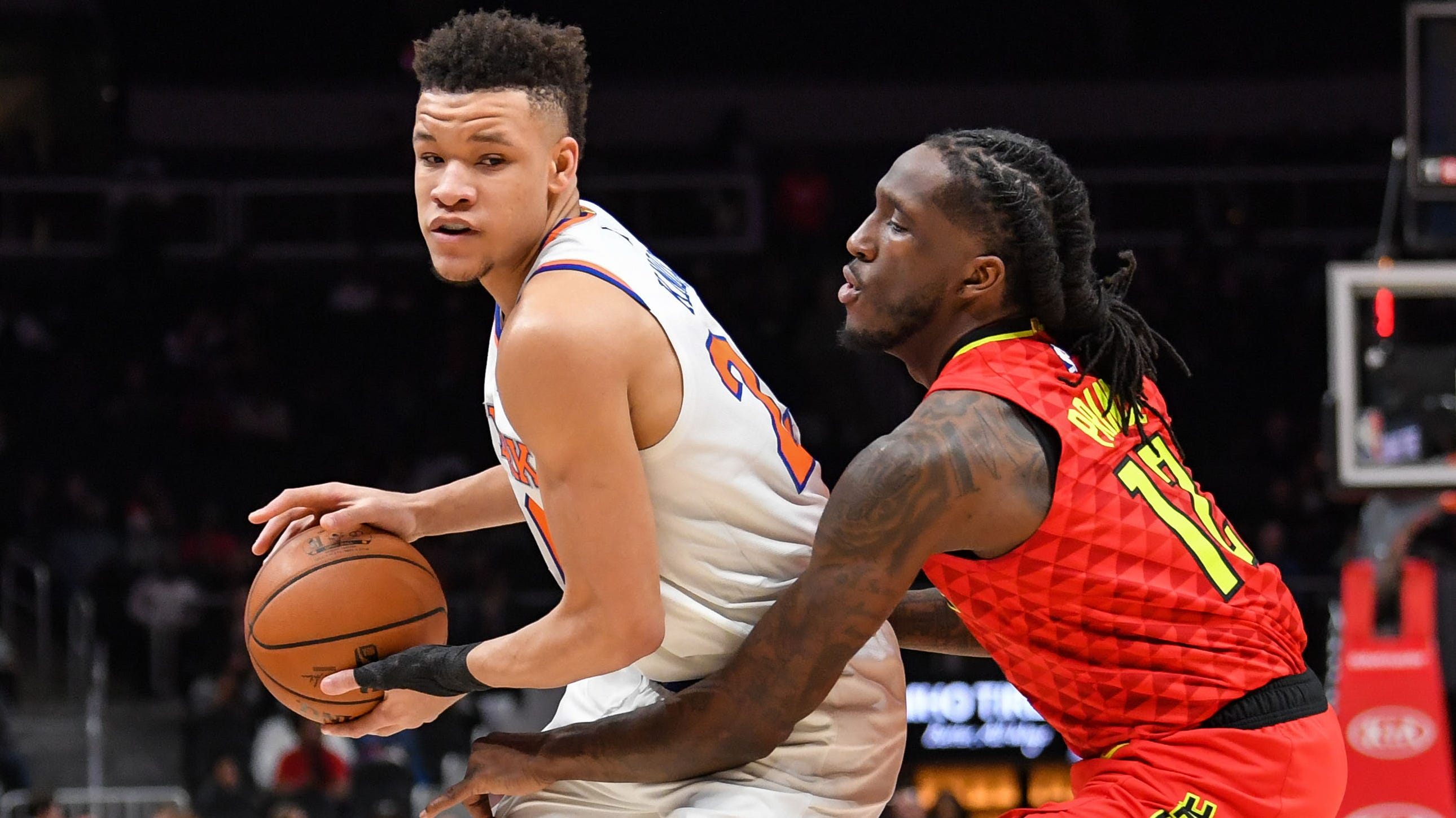 New York Knicks finally win a game, down the Atlanta Hawks to snap 18-game skid