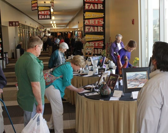 The Las Cruces Arts Fair will be offering a silent auction Sunday, March 3.