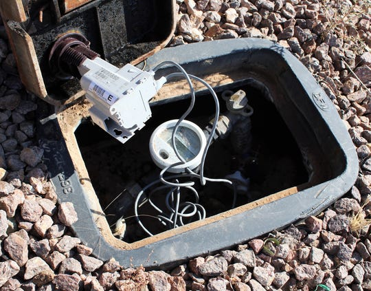 Encoder receiver transmitters are connected to the lids of the new water meter boxes. Any tampering of the water meter can affect the accurate billing and can result in fines.