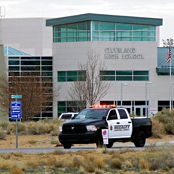 Student charged with attempted murder after gunshot at New Mexico high school