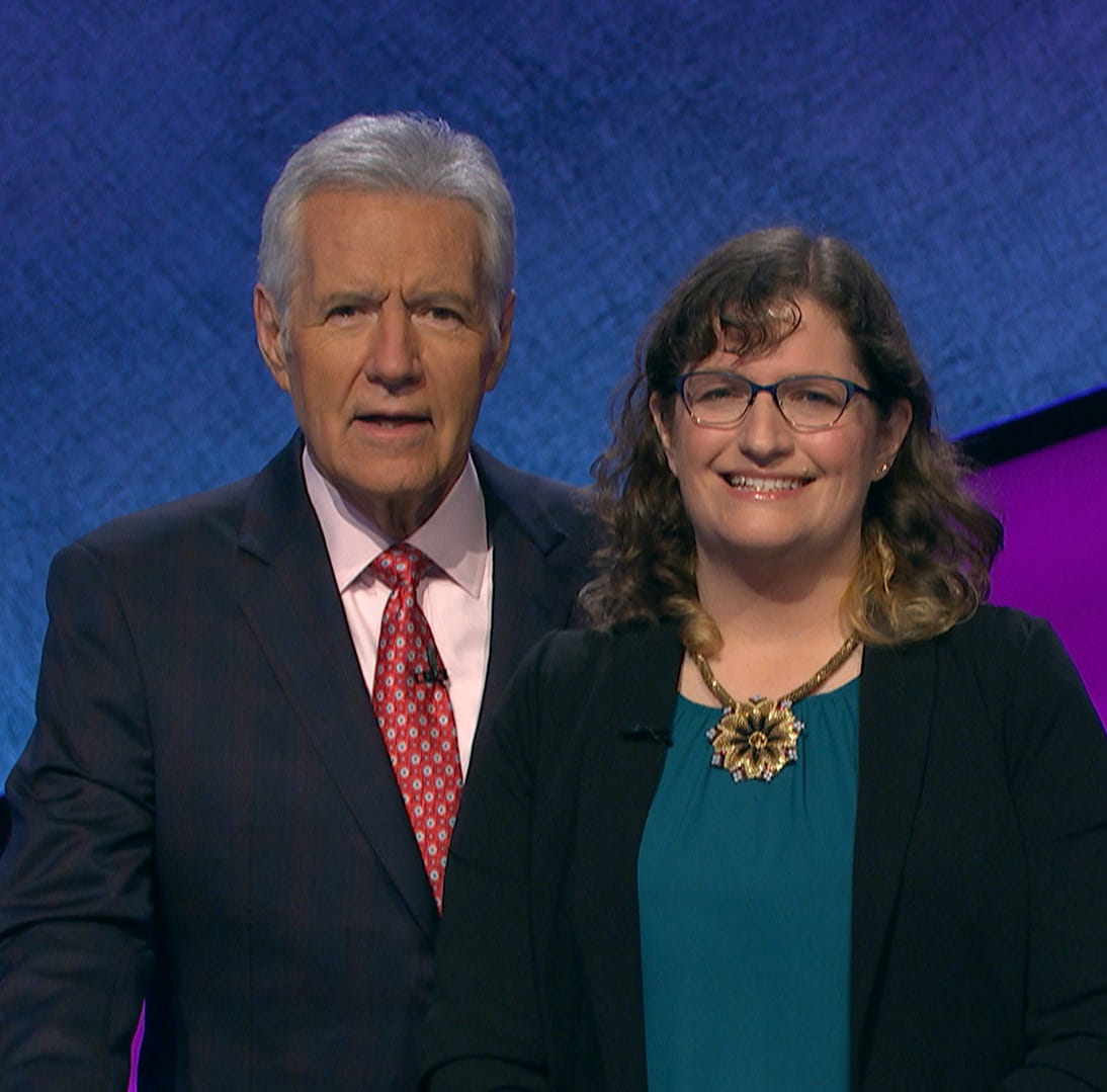 Livonia woman competes tonight on Jeopardy! with smarts, timing, nerves of steel