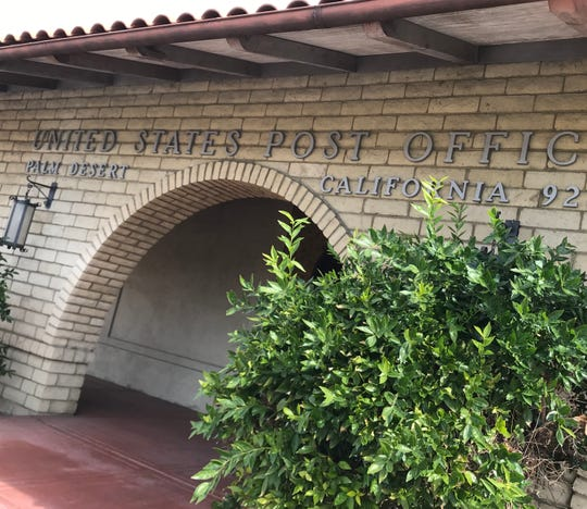 The U.S. post office at 75-300 Portola Ave., Palm Desert, is closing when the lease expires in August 2020. The postal service is holding a community meeting next week to discuss relocation options.