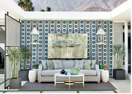 The Christopher Kennedy Compound showcased at Modernism Week in 2014.