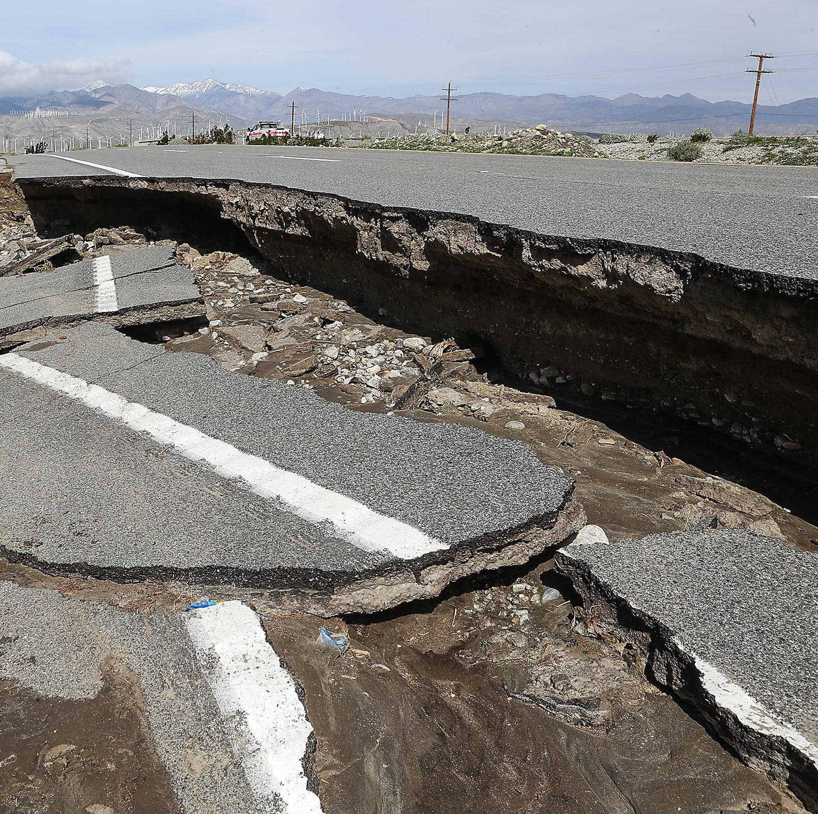 Highway 111 near Palm Springs is expected to reopen Sunday night, Caltrans official says