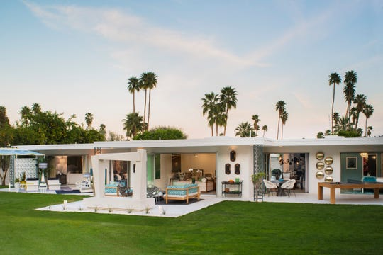 The Christopher Kennedy Compound showcased at Modernism Week in 2015.