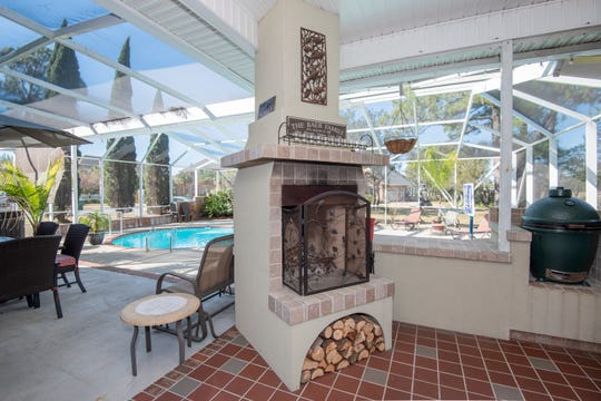 A five-bedroom, four-bath house at 4068 W. Madura Road in Gulf Breeze offers an elegant dining space, a gourmet kitchen, swimming pool and outdoor kitchen area. The home's location on Tiger Point in Gulf Breeze also makes it perfect for golfers.