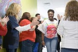 Nemours patient leaves treatment with clap out celebration in Pensacola