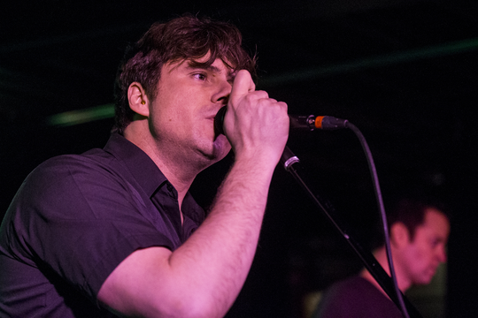 Jimmy Eat World celebrates the band's 25th anniversary on Feb. 14, 2019, at the Rebel Lounge in Phoenix.