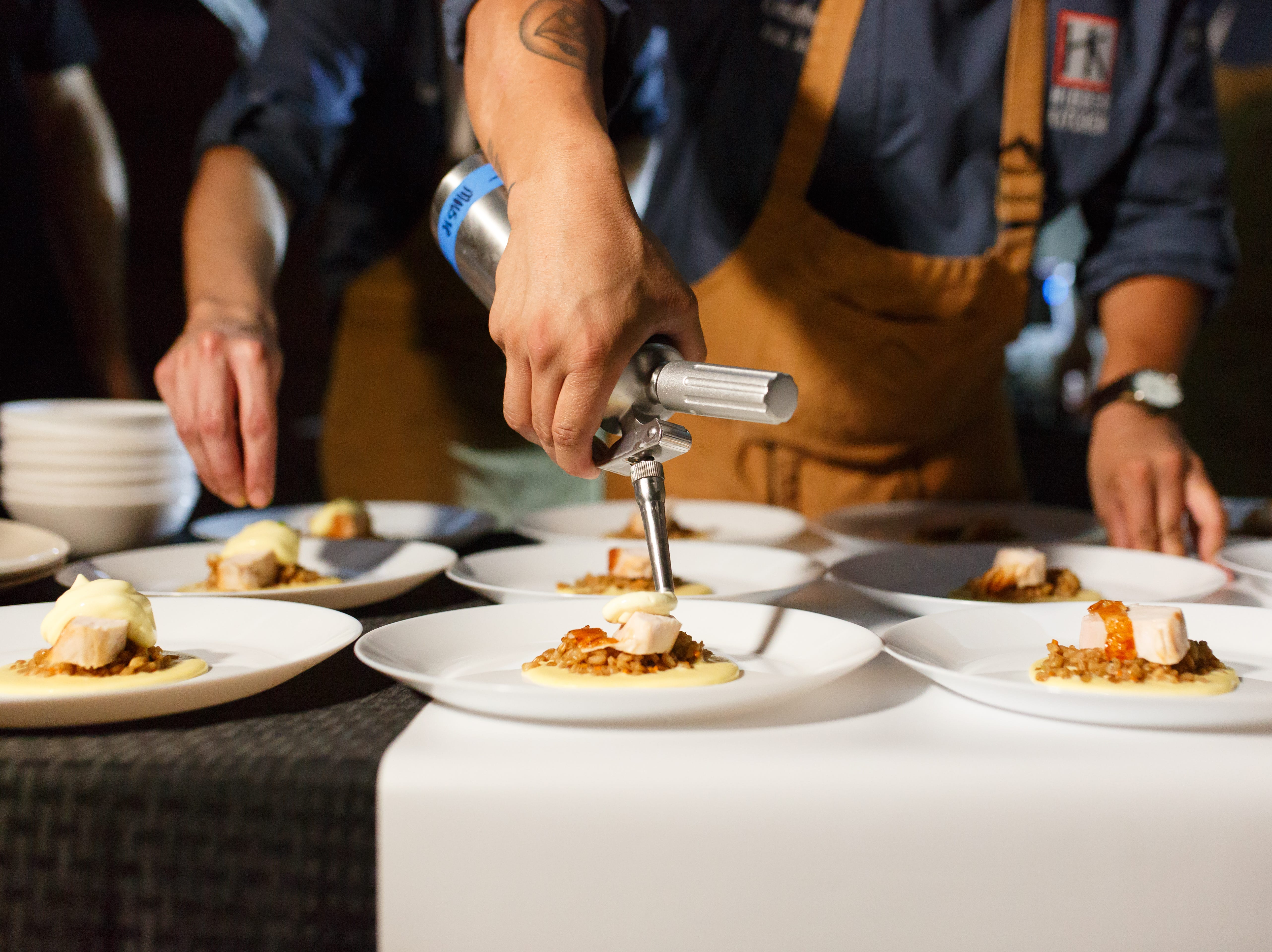 Chef Ivan Jacobo of Hidden Kitchen restaurant in downtown Phoenix has hosted wildly popular pop-up dinner events at venues around Phoenix for the last three years.