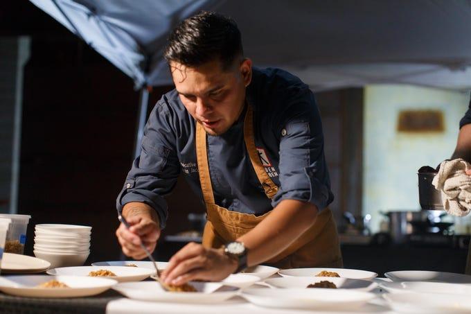 Chef Ivan Jacobo of Hidden Kitchen restaurant in downtown Phoenix.