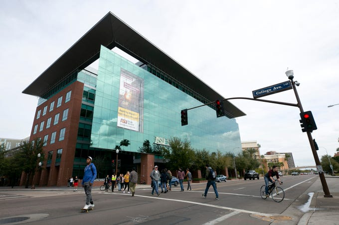 The Fulton Center building on ASU's main campus Tempe as seen on Feb. 15, 2019. It was built in 2005.