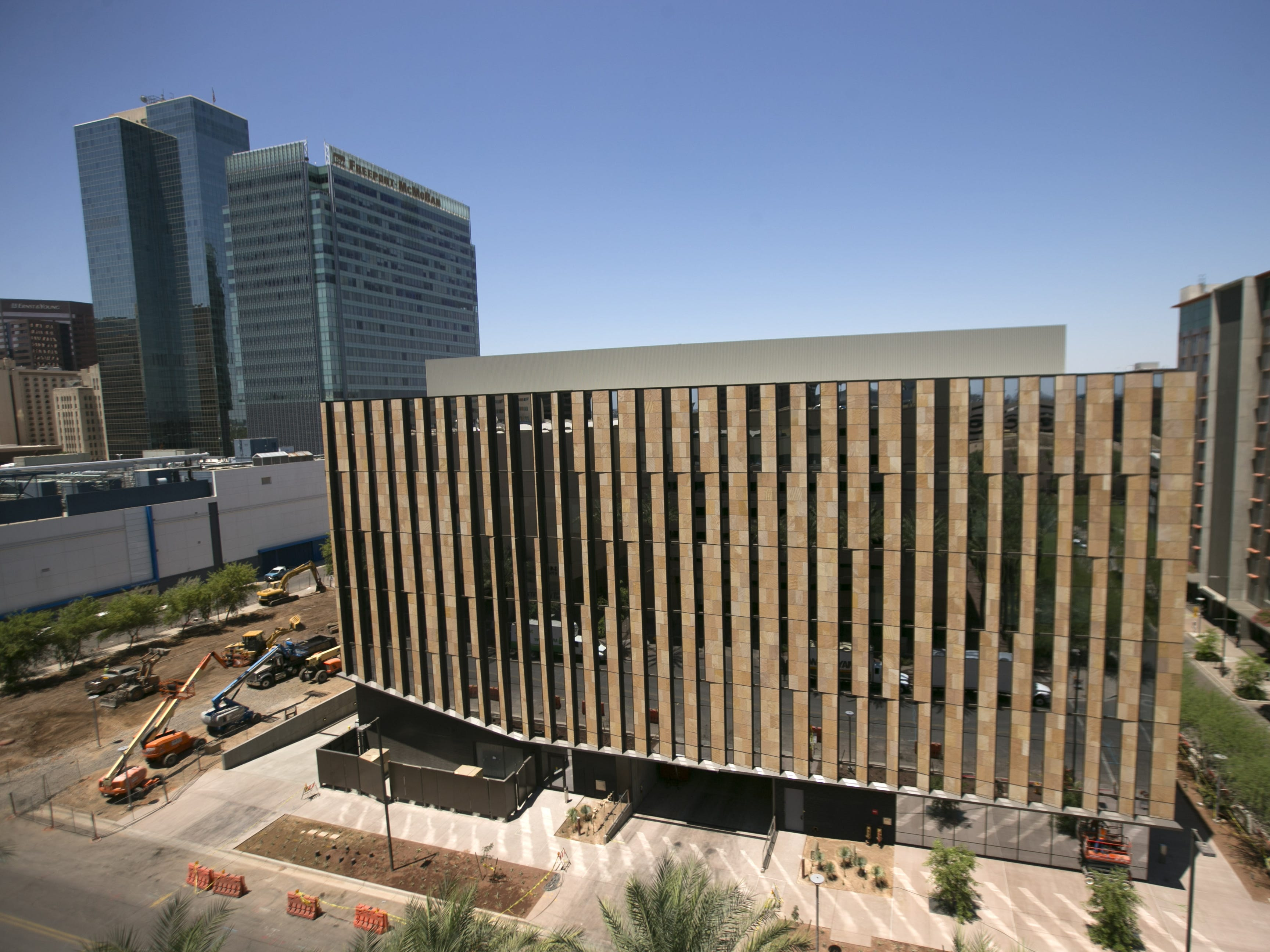 The Beus Center for Law and Society  of the Sandra Day O'Connor College of Law at Arizona State University in downtown Phoenix as seen on June 22, 2016.