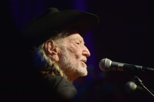 Willie Nelson performs during the Producers & Engineers Wing 12th annual GRAMMY week event honoring Nelson at Village Studios on February 6, 2019 in Los Angeles.