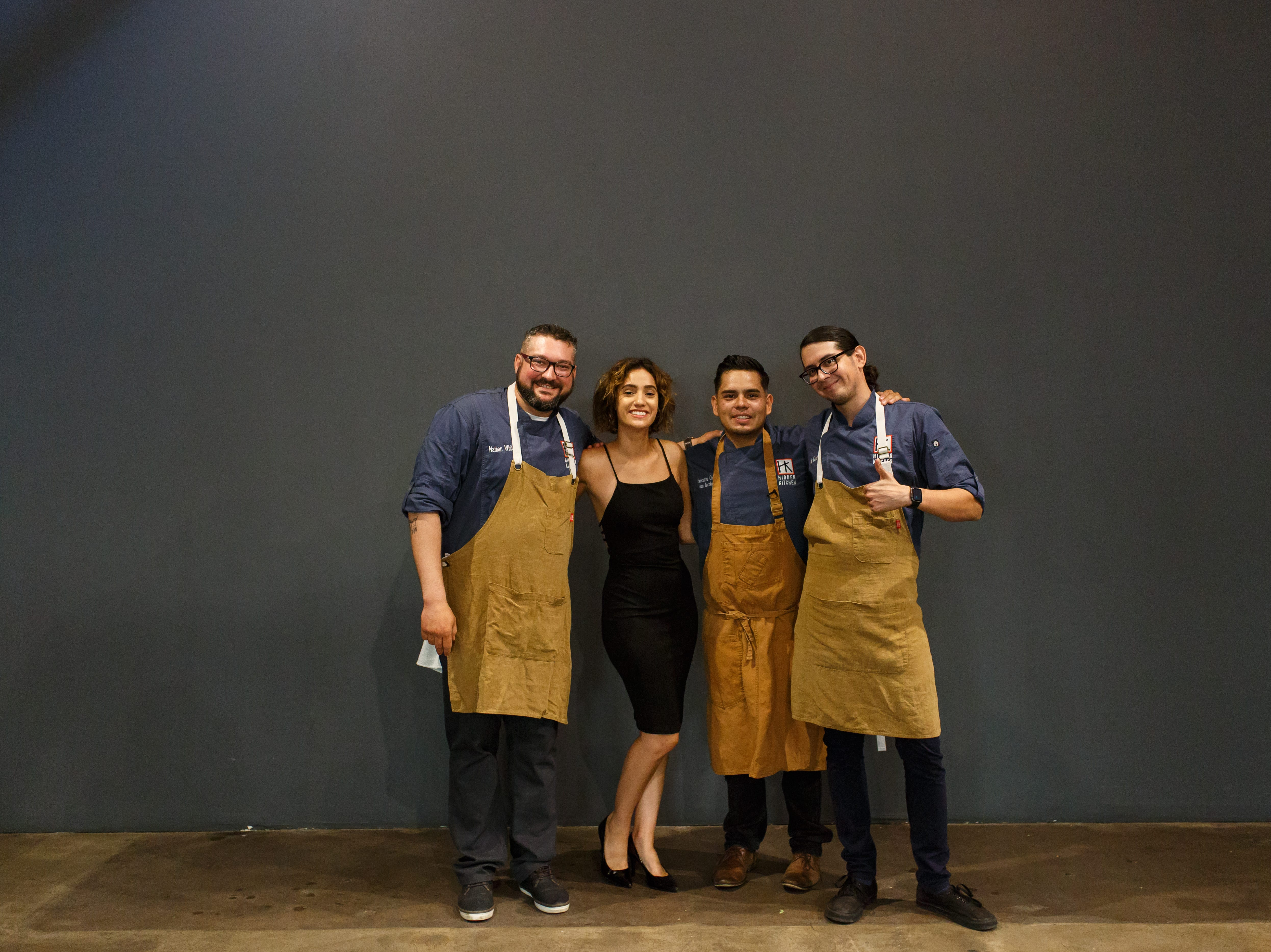 The team behind Hidden Kitchen, a successful catering company headed by chef Ivan Jacobo, who will open a brick-and-mortar restaurant in February 2019.
