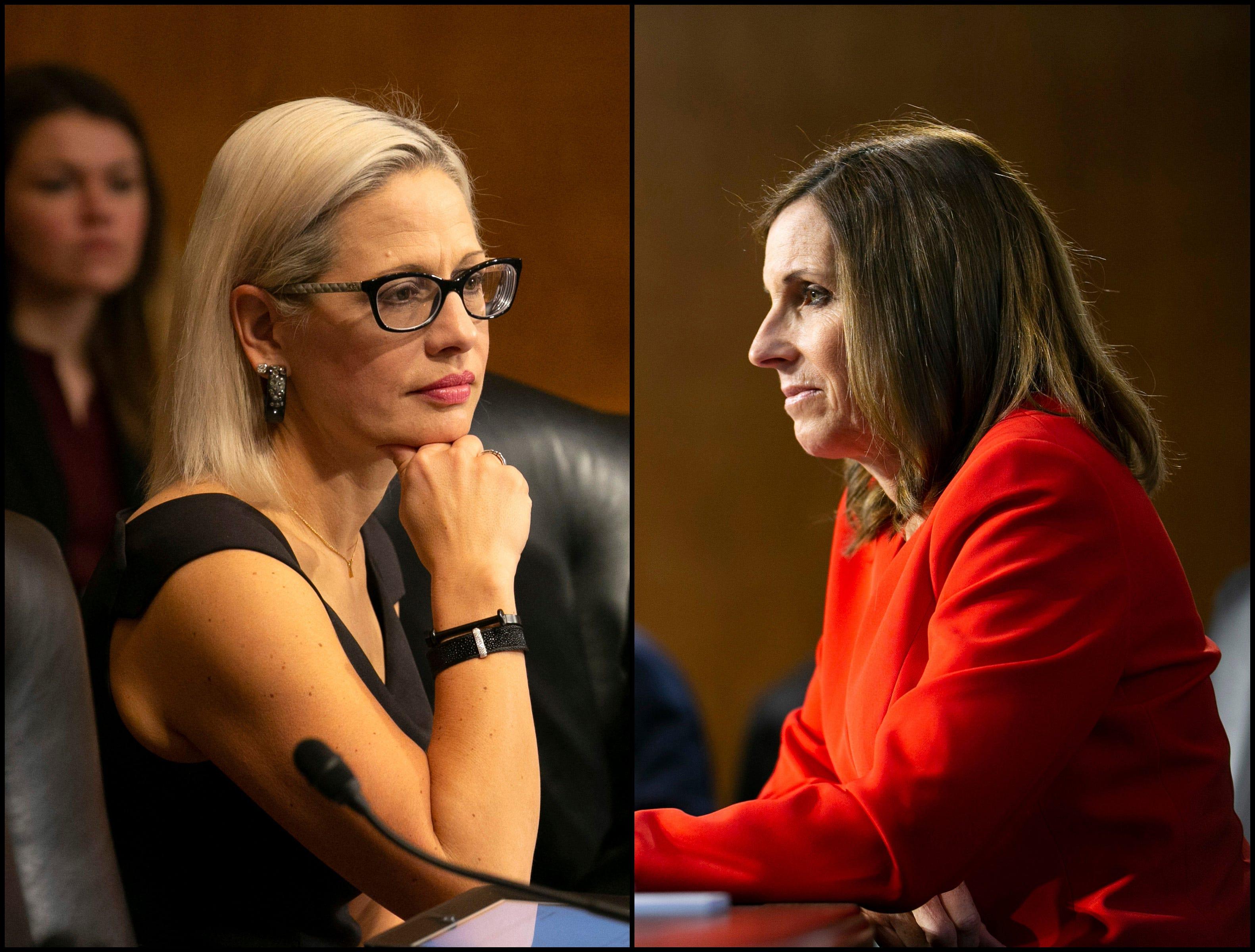 Here's how Sens. Kyrsten Sinema and Martha McSally voted on Trump border emergency rebuke
