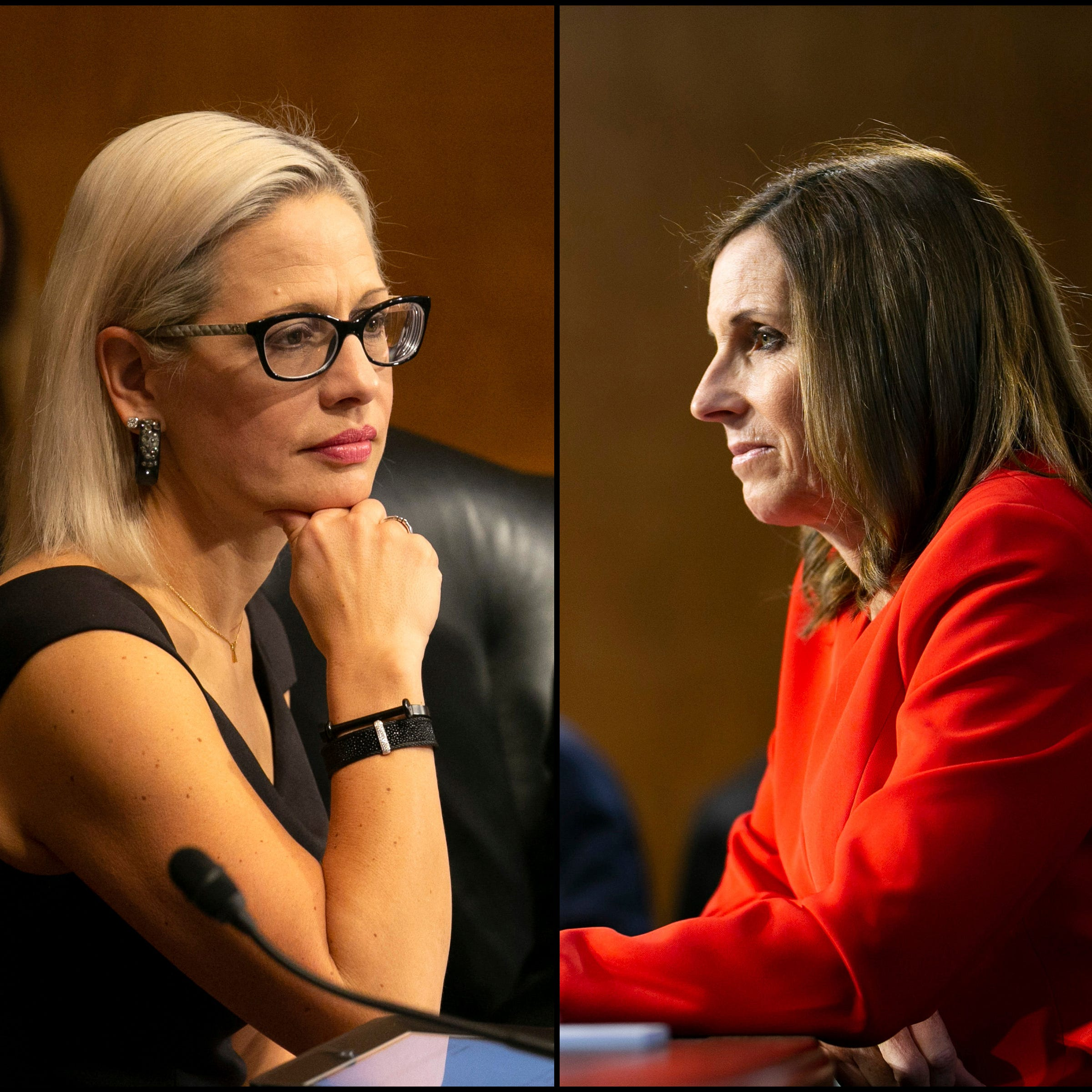 Martha McSally and Kyrsten Sinema on Trump's border emergency: cue the crickets
