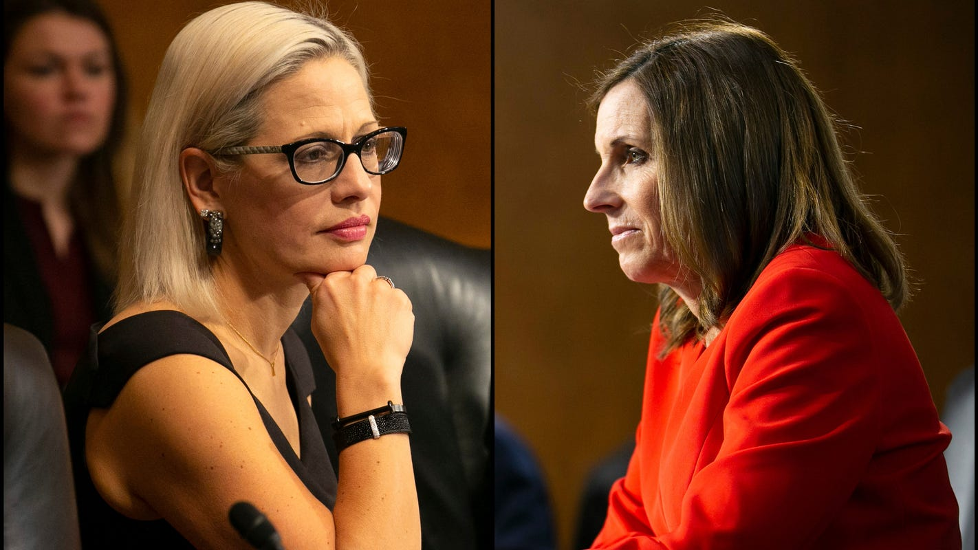 Sinema, McSally split over controversial Trump court pick Steven Menashi