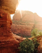 On average, Sedona sees more than 275 days of sunshine a year.