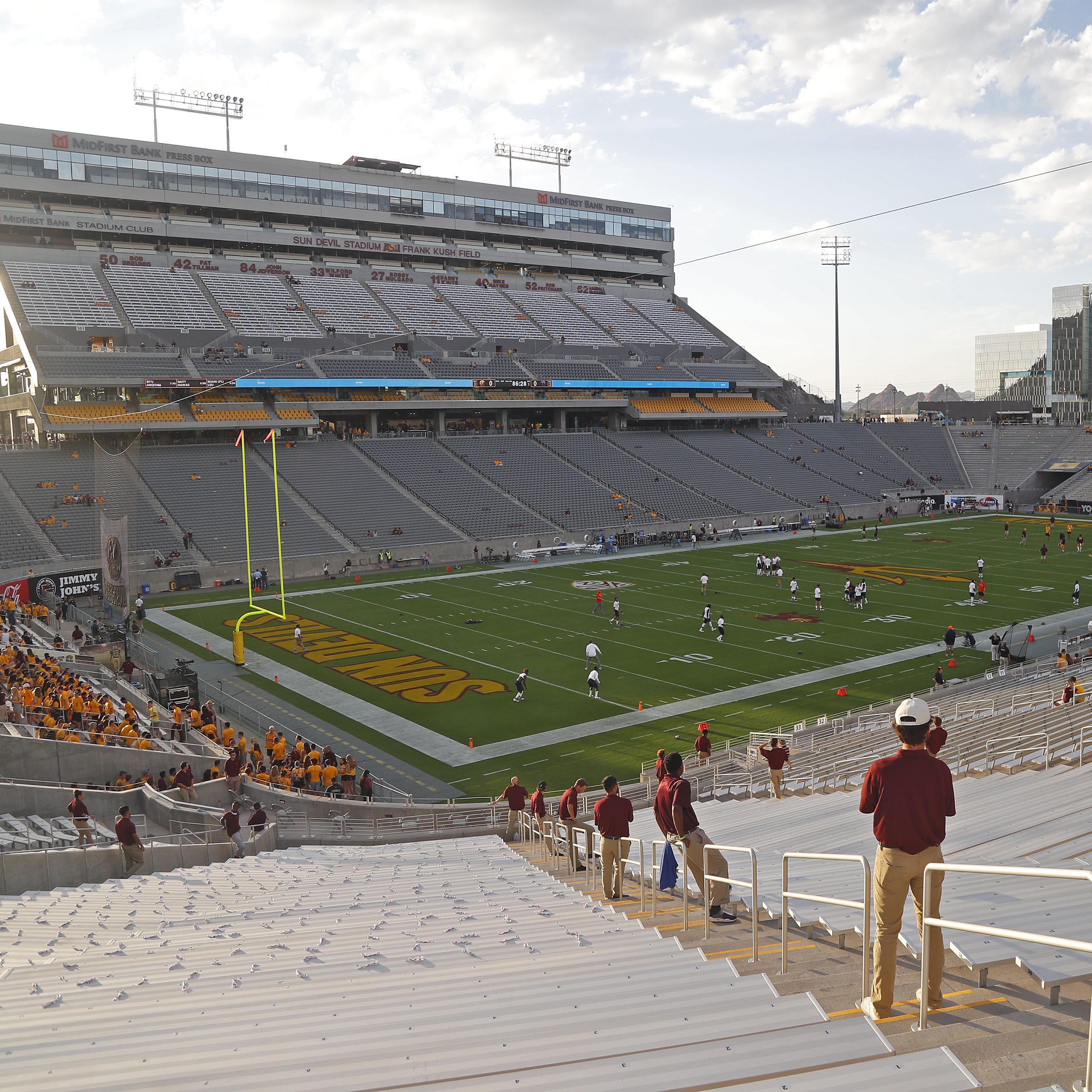 Football buyouts push ASU, Arizona athletics into deficits for fiscal year 2018