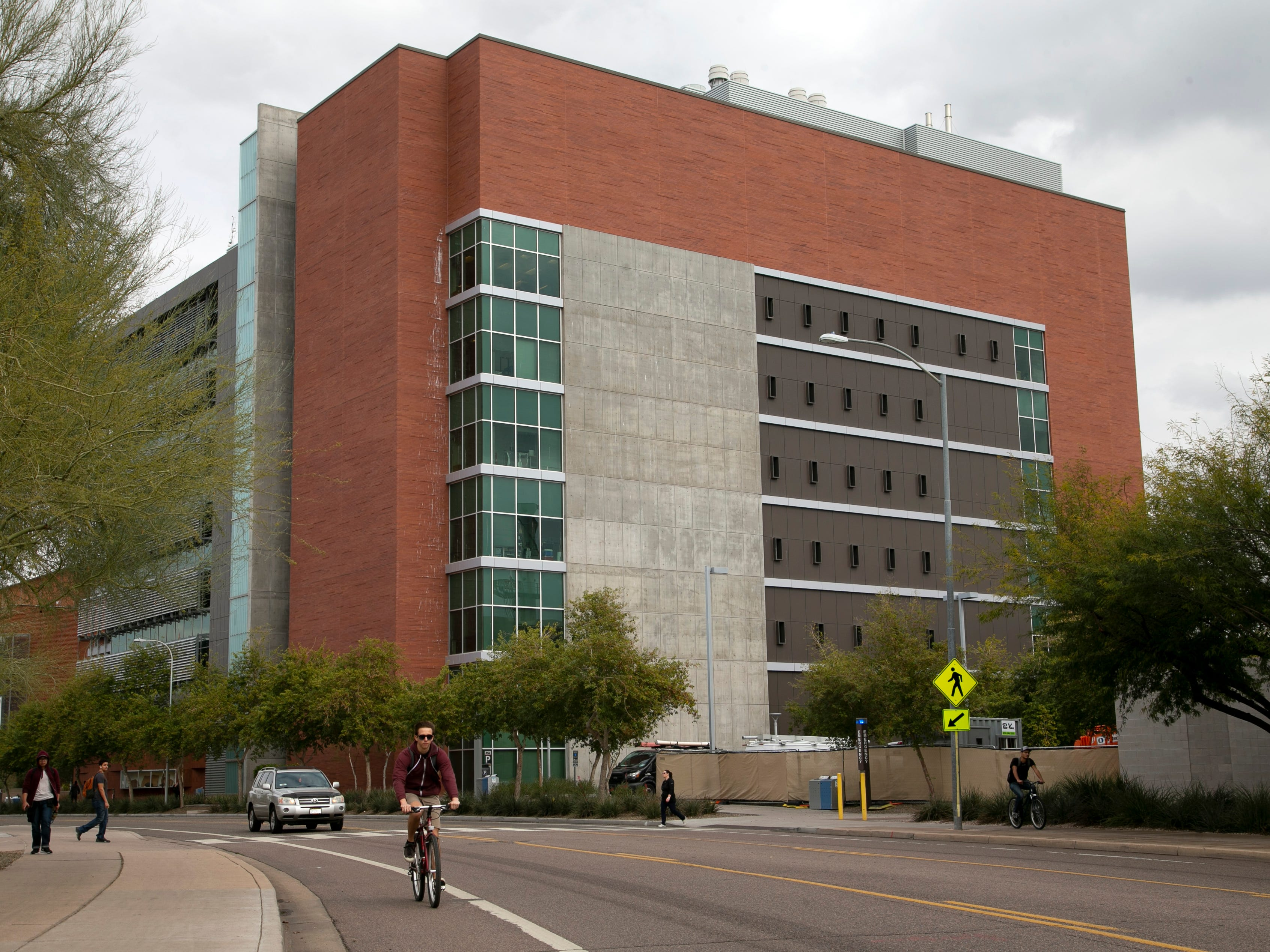 Interdisciplinary Science and Technology Building 4 on ASU's main campus Tempe as seen on February 15, 2019. It opened in 2012.