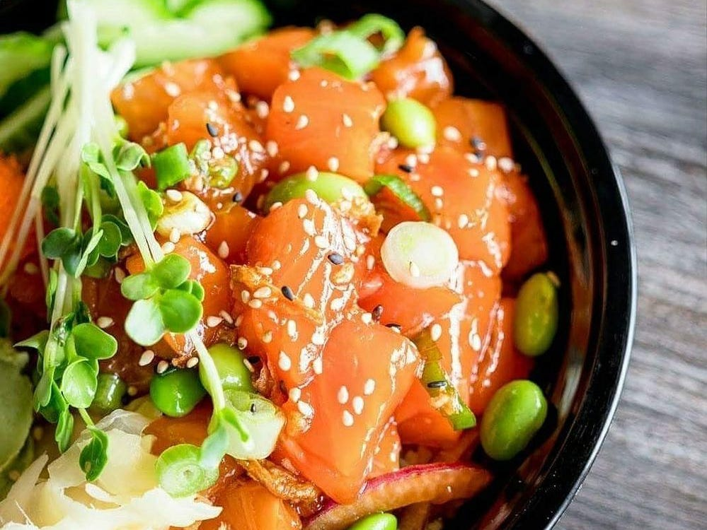 AHIPOKI BOWL: Get halfoff any bowl with a drink purchase. Not valid with any other offer.