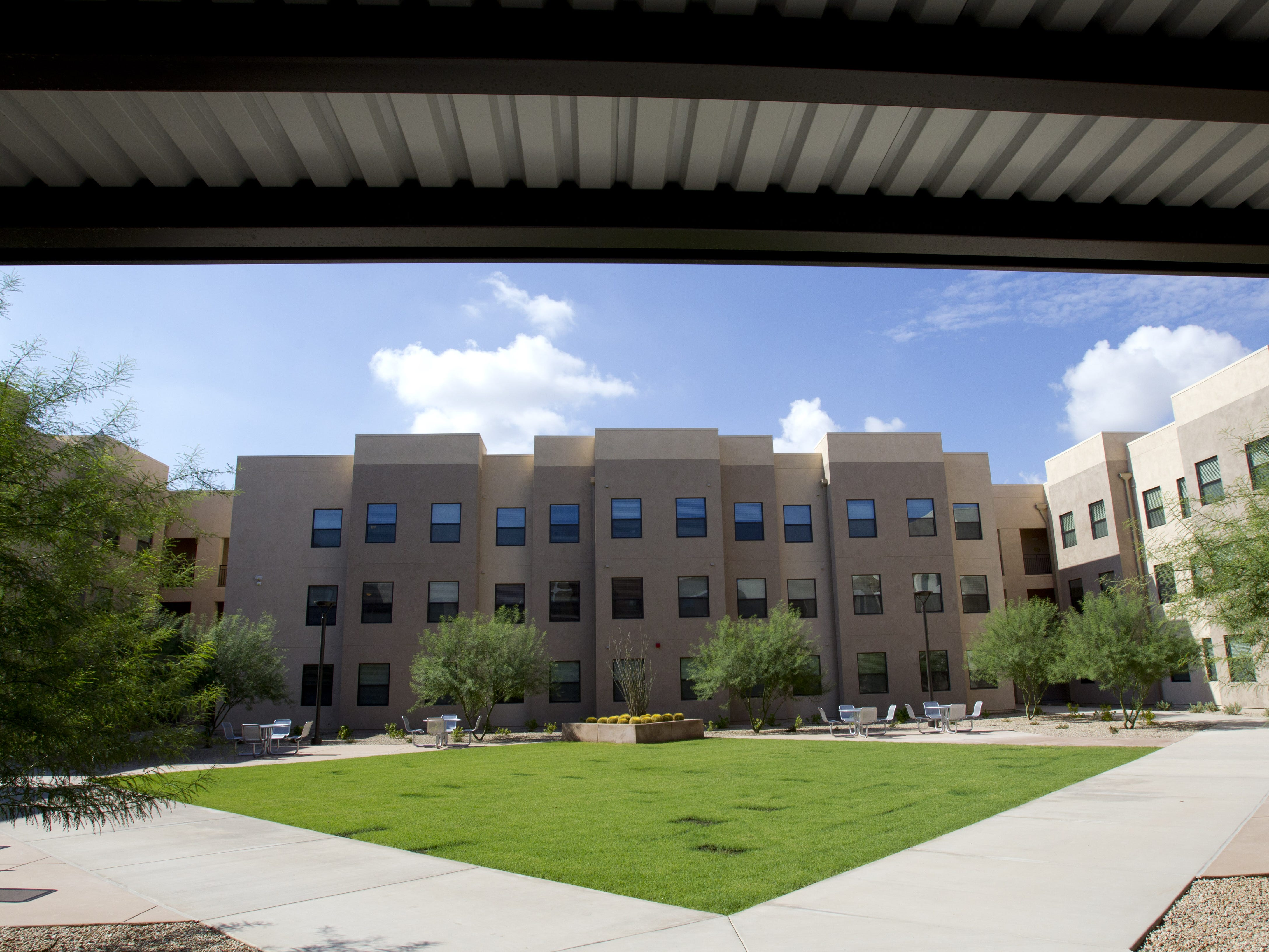 ASU's new residence hall Casa De Oro on ASU's West campus opened its doors to students on Aug. 18, 2012.