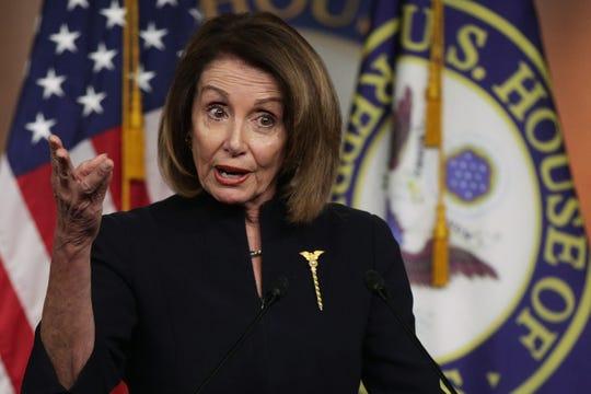 Nancy Pelosi, líder de la Cámara de Representantes en EEUU.