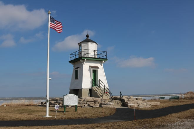 The gracefully modest lakefront scene center-pieced by the historical Port Clinton Lighthouse at Waterworks Park is a far cry from the vision proposed in a would-be multi-billion dollar commercial development of the property.